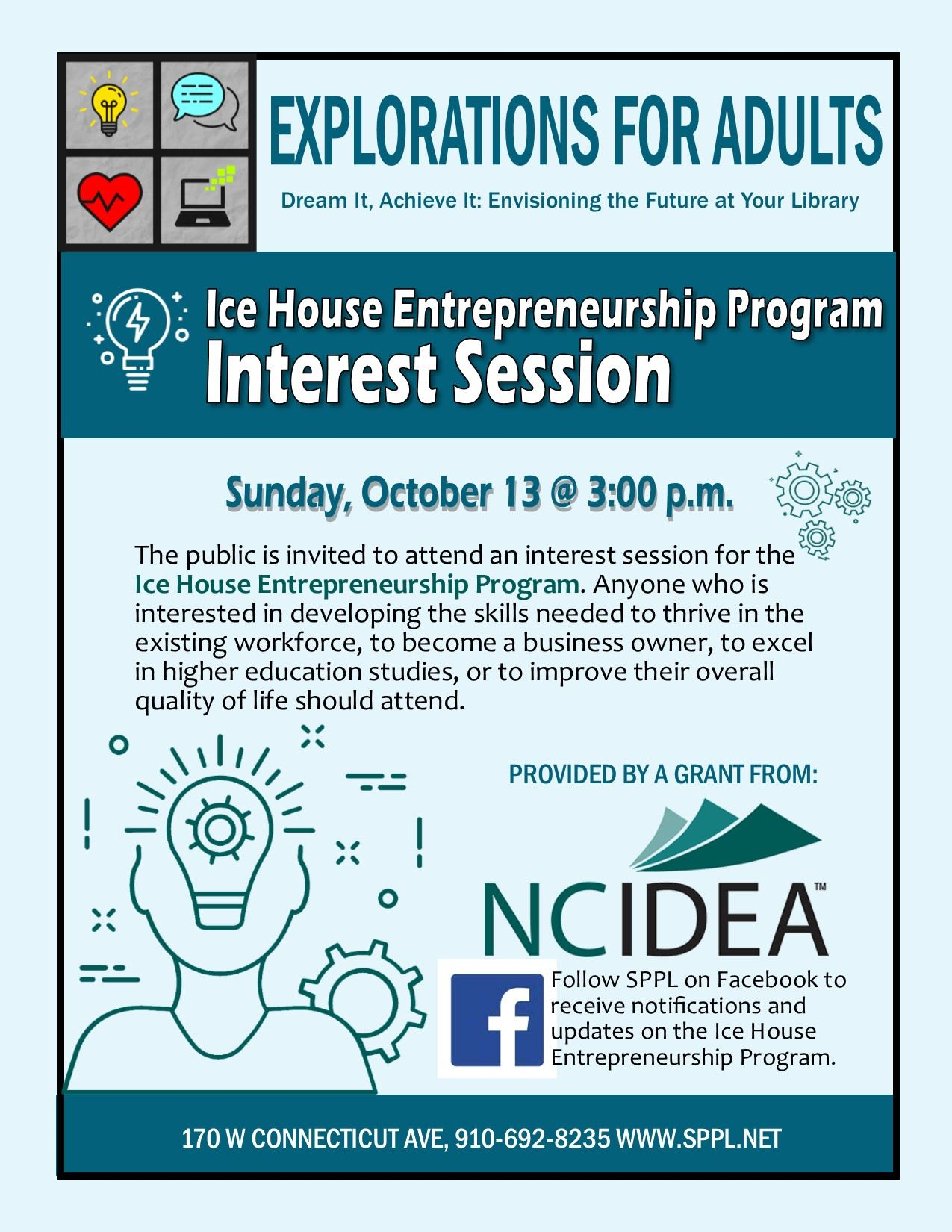 Ice House Interest Session