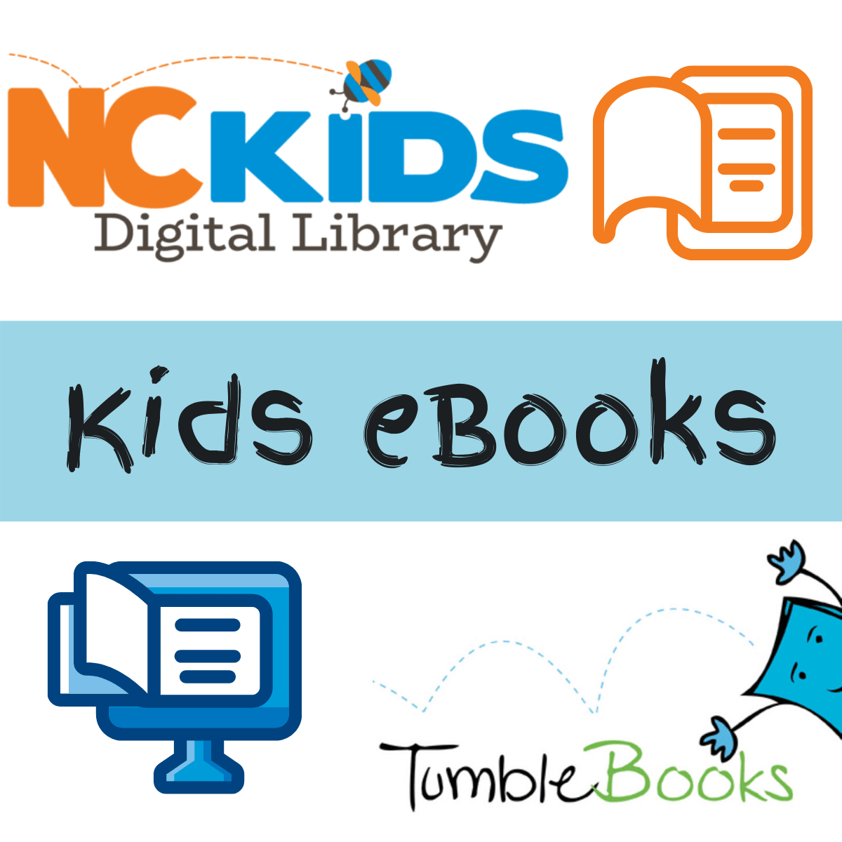 Kids eBooks Collections - NC Kids and Tumble Books