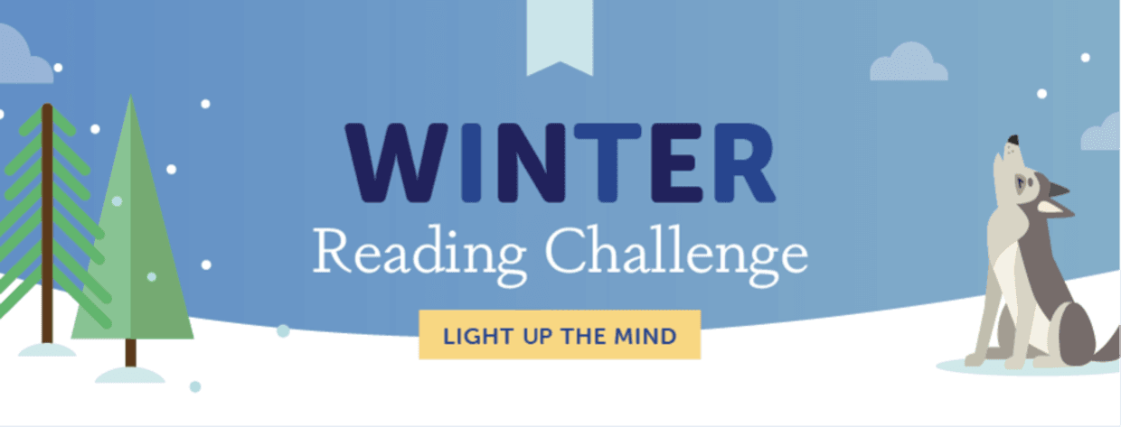 Winter Reading Challenge  Opens in new window